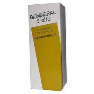 BIOMINERAL 5-alfa shampoo trattante